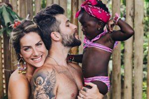 Bruno Gagliasso com a família. (Foto: Reprodução/Instagram)