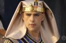 Ramsés (Sergio Marone) em cena de Os Dez Mandamentos (Foto: Reprodução/Record)