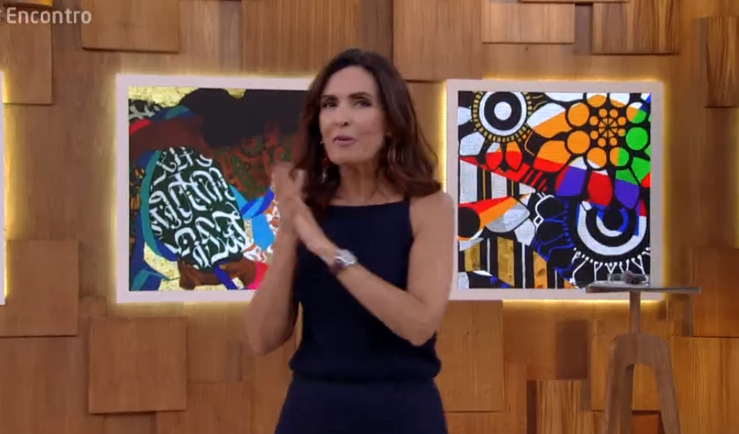 Fatima Bernardes. Foto do site da O TV Foco que mostra Fátima Bernardes impressiona e diz qual a sua opinião sobre intervenção no RJ