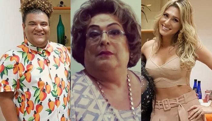 Lívia Andrade quer Gominho no lugar de Mamma Bruschetta no Fofocalizando. (Foto: Reprodução/Instagram)