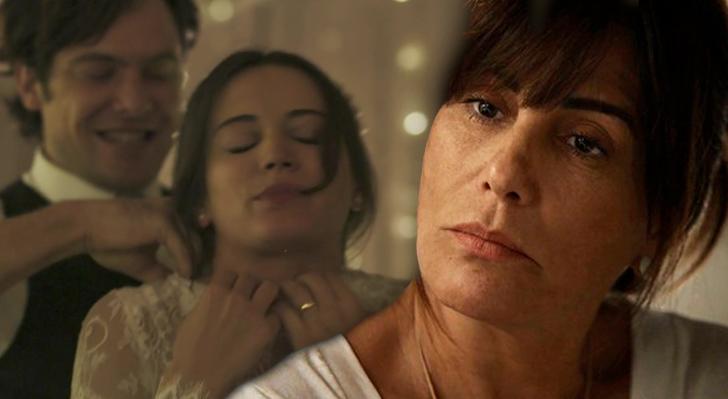 Lado Patrick. Foto do site da O TV Foco que mostra Beth incentiva Clara a trocar Patrick por Gael em O Outro Lado do Paraíso