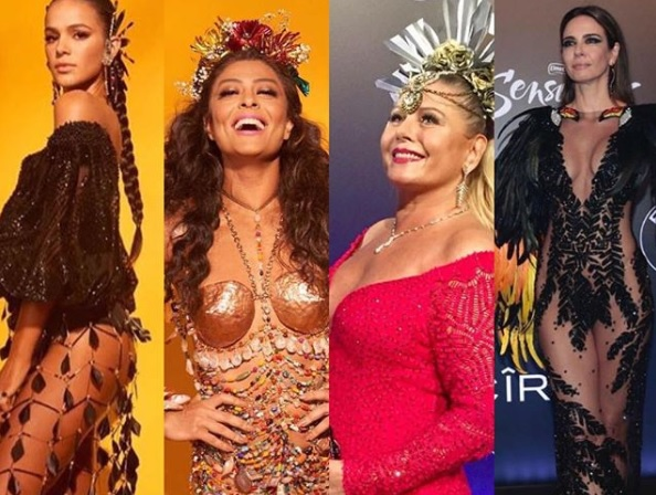 f52457379 Baile da Vogue conta com famosas como Juliana Paes, Marina Ruy Barbosa,  Sabrina Sato e tem valor de entrada chocante divulgada – TV Foco
