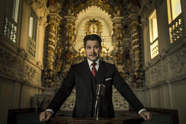 Adriano (Murilo Benício) na minissérie Se Eu Fechar os Olhos Agora (Foto: Mauricio Fidalgo/Globo)