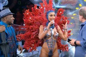 Foto do site da  que mostra Destacando concorrentes em 2018, Globo ignorou Xuxa no Carnaval do ano passado