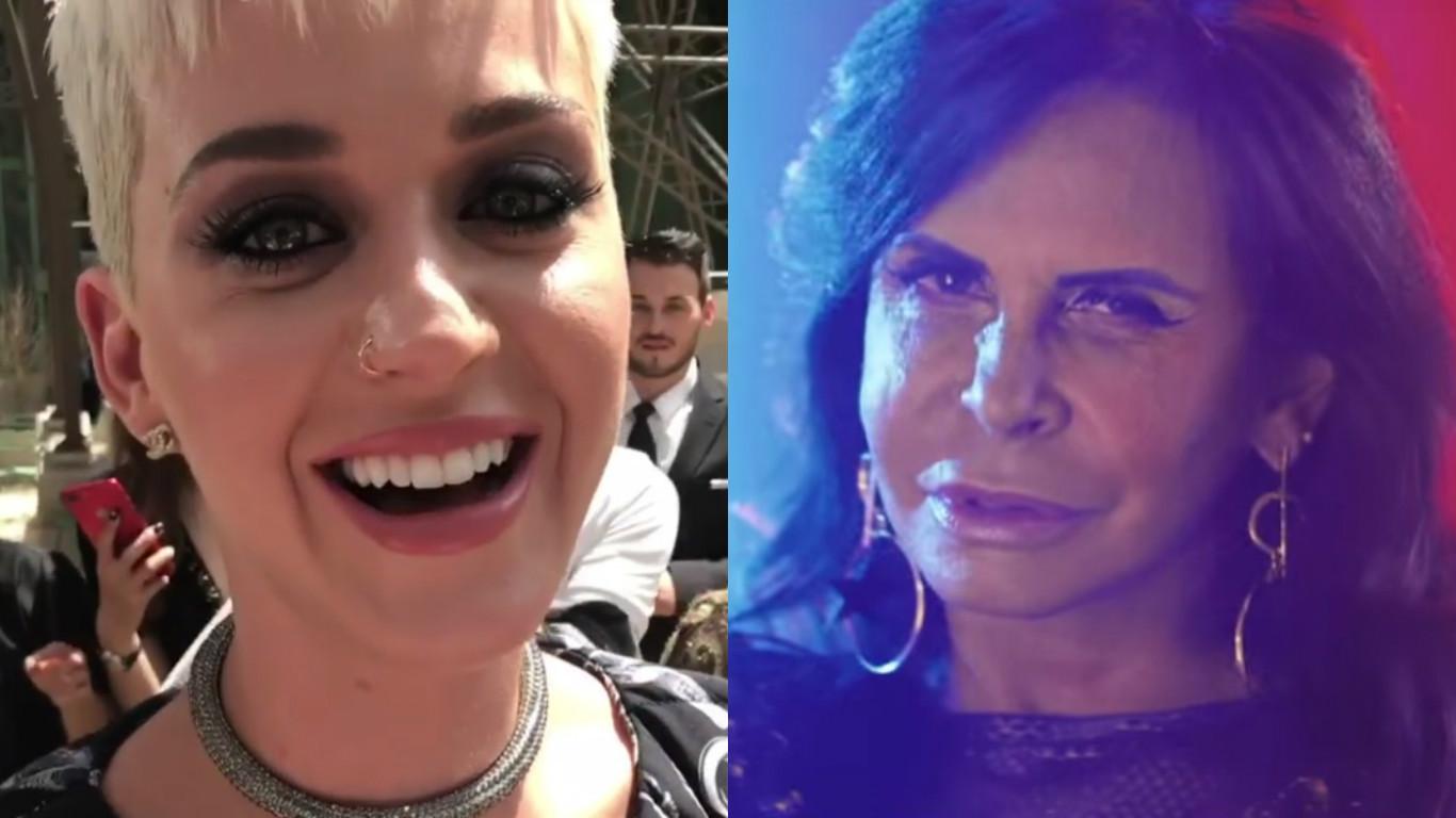 Gretchen diz que queria Katy Perry como nora em chamada de vídeo