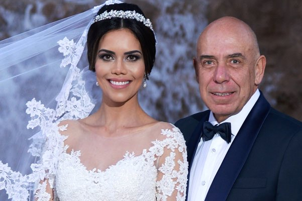 A apresentadora Daniela Albuquerque e o empresário. (Foto: Reprodução)