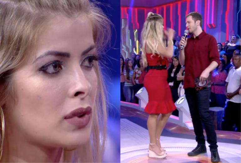 Jaqueline compara sua eliminação no BBB18 com a de Ana Paula e se revolta (Foto: reprodução)