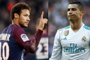 Neymar e Cristiano Ronaldo (Foto: Reprodução)