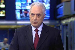 William Waack no Jornal da Globo (Foto: Reprodução/Globo)