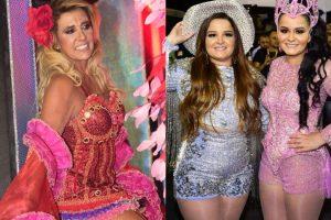 Esclarece. Foto do site da O TV Foco que mostra Carnaval: Rita Cadillac esclarece confusão com a Globo e agradece Maiara e Maraisa