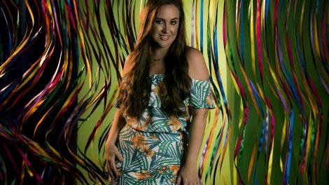 A ex-BBB Patrícia (Foto: Raphael Dias)