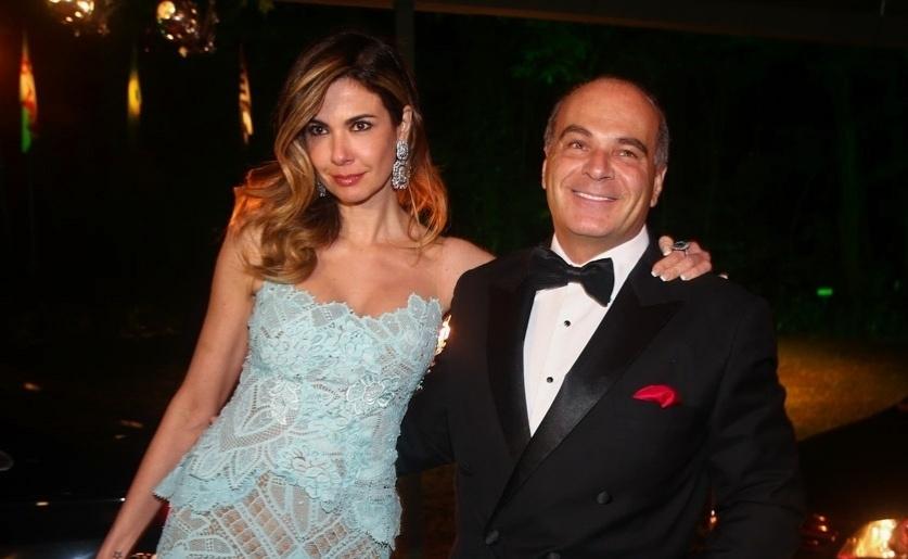 Luciana Gimenez e Marcelo de Carvalho estiveram casados durante 12 anos (Foto: Divulgação)
