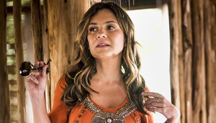 Laureta (Adriana Esteves) em Segundo Sol (Foto: Globo/João Miguel Júnior)