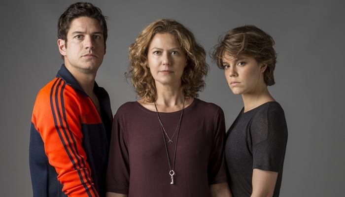Marco Pigossi, Patricia Pillar e Alice Wegmann estarão em Onde Nascem os Fortes (Foto: Globo/Estevam Avellar)