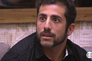 O sírio Kaysar Dadour no BBB18 (Foto: Reprodução/Globo)