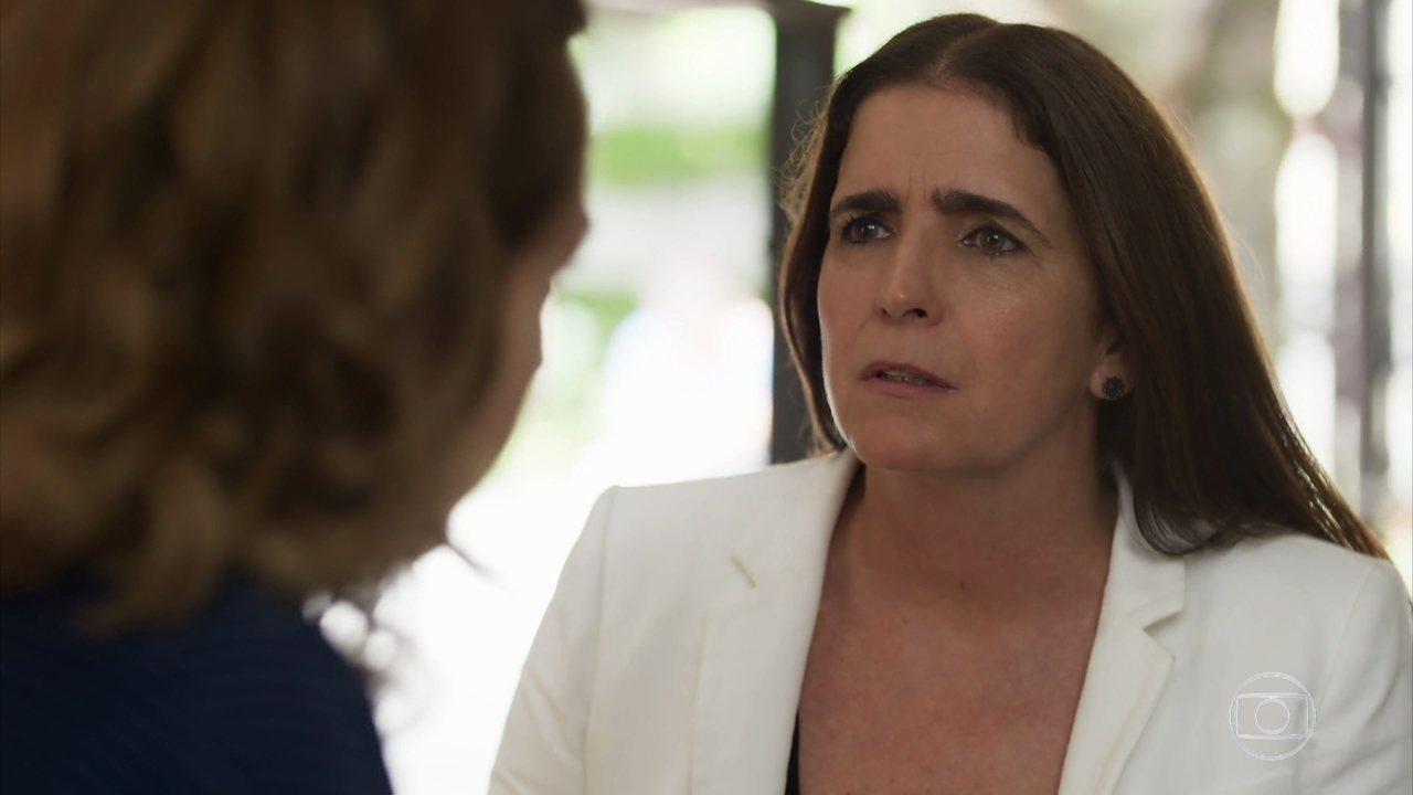 Melissa (Malu Mader) em Malhação: Vidas Brasileiras (Foto: Reprodução/Globo)