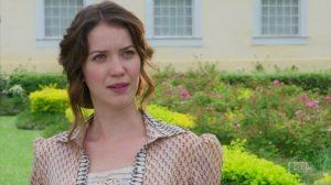 Elisabeta (Nathalia Dill) em cena de Orgulho e Paixão (Foto: Reprodução/Globo)