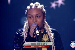 Celebridades Deixa. Foto do site da O TV Foco que mostra Cantora deixa humildade de lado, exalta torcida de Neymar no The Voice Kids e causa revolta