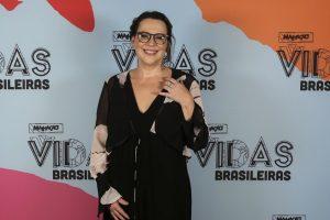 Ana Beatriz Nogueira participa do evento de lançamento de 'Malhação: Vidas Brasileiras' (Foto: Rapha Dias/Gshow)