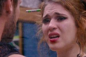 Ana Clara chora durante conversa com Breno Imagem: Reprodução/GloboPlay