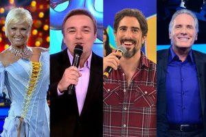Apresentadores da Record passam cada vez mais a apresentar formatos estrangeiros (Foto: Divulgação/Record/Montagem/TV Foco)