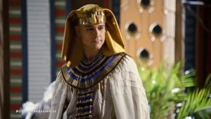 Ramsés (Sérgio Marone) em cena de Os Dez Mandamentos (Foto: Reprodução/Record)