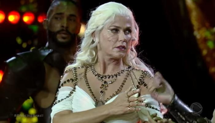 Xuxa Meneghel no Dancing Brasil 3 (Foto: Reprodução/Record)
