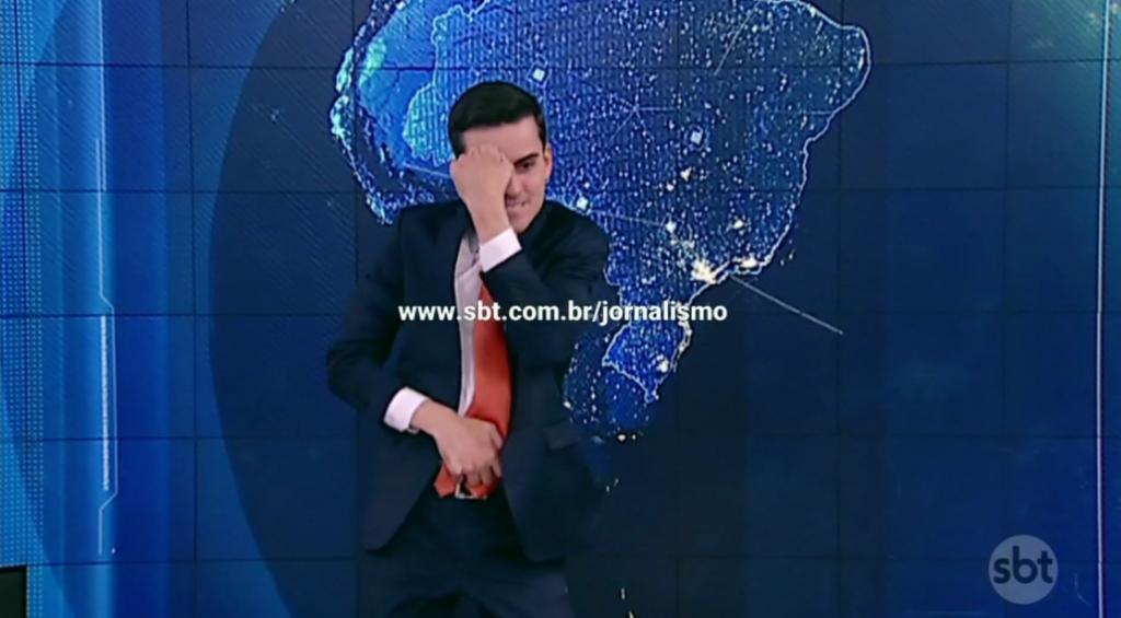 """Record Polemicas. Foto do site da O TV Foco que mostra Sem Marcão do Povo, Dudu Camargo volta a """"sarrar"""", bate Record em audiência e conquista 2º lugar para o SBT"""