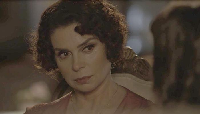 Emília(Françoise Forton) em cena de Tempo de Amar (Foto: Divulgação/Globo)