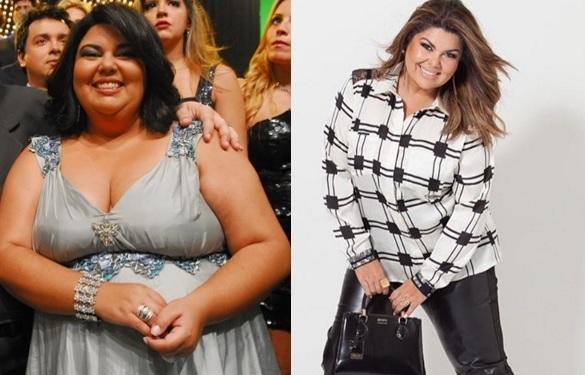 Fabiana Karla perdeu 20 quilos (Foto reprodução)