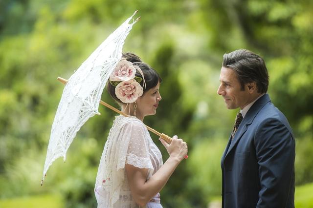 Ema (Agatha Moreira) e Jorge (Murilo Rosa) em Orgulho e Paixão (Foto: Globo/Raquel Cunha)