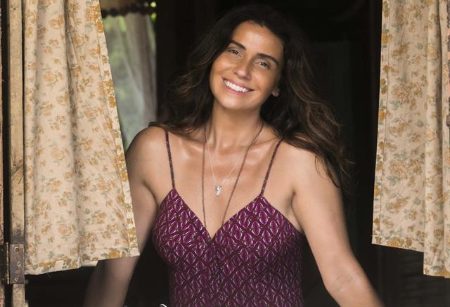 Luzia (Giovanna Antonelli) em Segundo Sol (Foto: Globo/João Miguel Júnior)