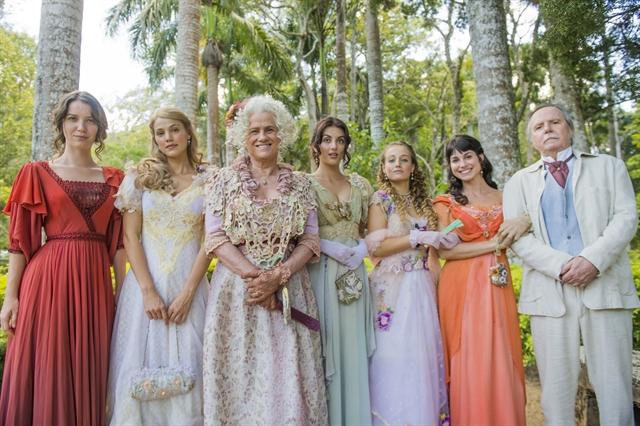 A família Benedito completa em Orgulho e Paixão (Foto: Globo/João Miguel Júnior)