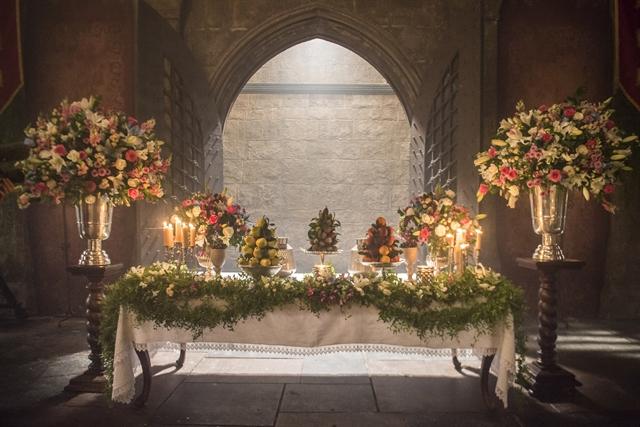 Detalhe da decoração do casamento (Foto: Globo/Mauricio Fidalgo)