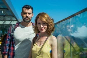 Gabriela (Camila Morgado) e Rafael (Carmo Dalla Vecchia) em Malhação: Vidas Brasileiras (Foto: Globo/Raquel Cunha)