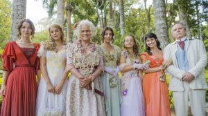 A família Benedito na novela das seis Orgulho e Paixão (Foto: Globo/João Miguel Júnior)