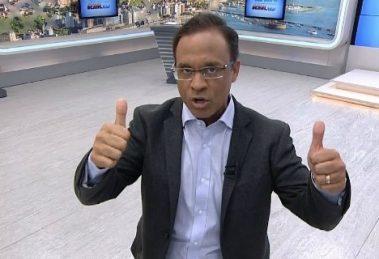 Apresentador da Record Bahia, Bocão, está na mira da Globo Bahia (Foto: Divulgação)