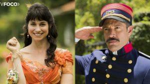 Coronel Brandão e Mariana formarão par no meio da trama (Foto: Montagem/ TV Foco)