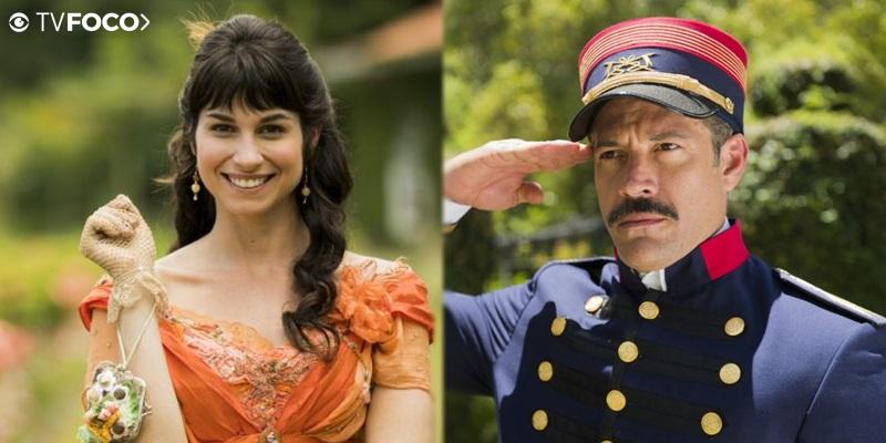 Coronel Brandão e Mariana formarão par no meio da trama (Foto: Montagem/ GPS da FAMA)