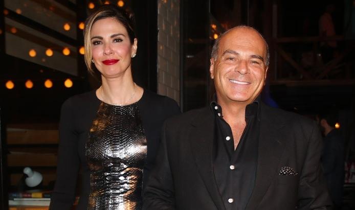 Luciana Gimenez e Marcelo de Carvalho (Foto: Reprodução)