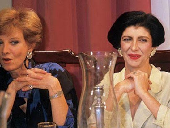 Glória Menezes e Marília Pêra foram protagonistas da novela Brega & Chique. (Foto: Reprodução)