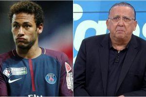 Galvão Buenose irritou com pergunta sobre Neymar (Foto: Montagem/Divulgação)