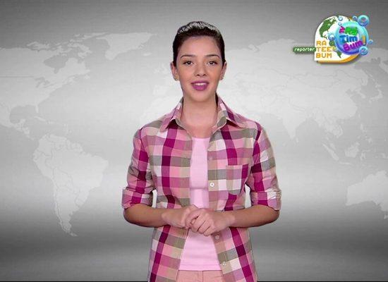 Repórter Rá Teen Bum é a nova aposta da TV Cultura. (Foto: Reprodução/YouTube)