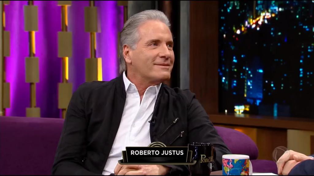 Gugu. Foto do site da O TV Foco que mostra Após perder programa para Gugu na Record, Roberto Justus negocia com a Band