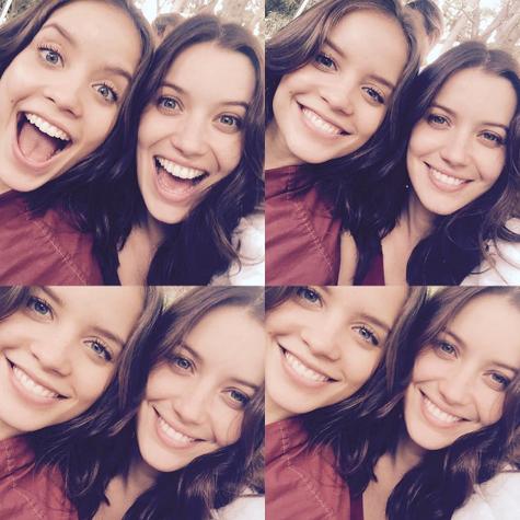 Joana Borges e Nathalia Dill (Foto: Reprodução/Instagram)