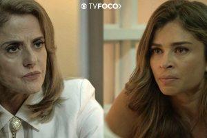 Saiba Lado. Foto do site da O TV Foco que mostra O Outro Lado do Paraíso: Inescrupulosa, Sophia ameaça dar fim cruel a Lívia saiba detalhes