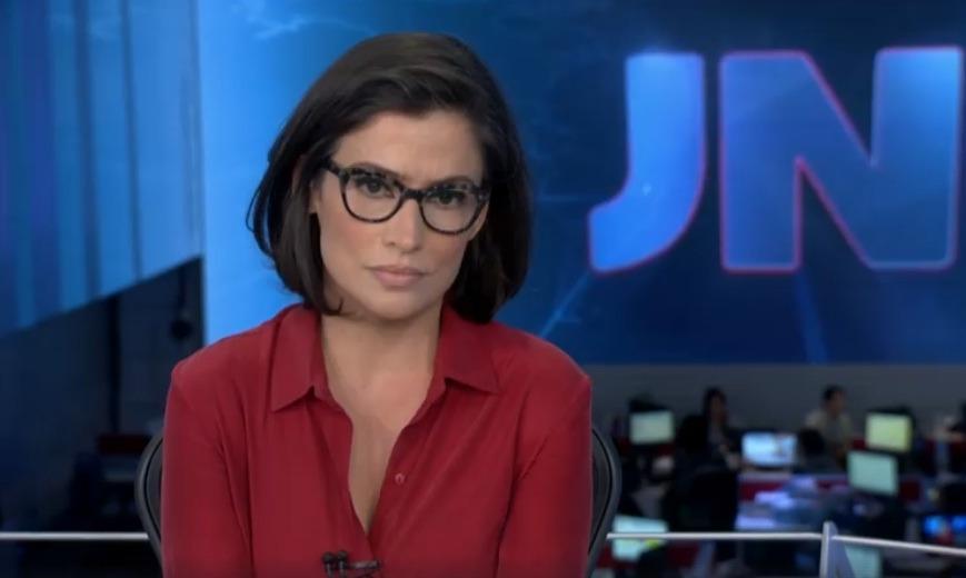 Renata Vasconcellos é âncora do Jornal Nacional (Foto: Reprodução/Globo)