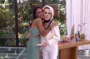 A vencedora do BBB18 Gleici Damasceno e Ana Maria Braga no Mais Você (Foto: Reprodução/Globo)
