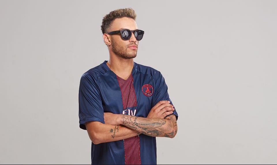 Gabriel Lucas é o cover oficial de Neymar – Foto: Reprodução/ Facebook