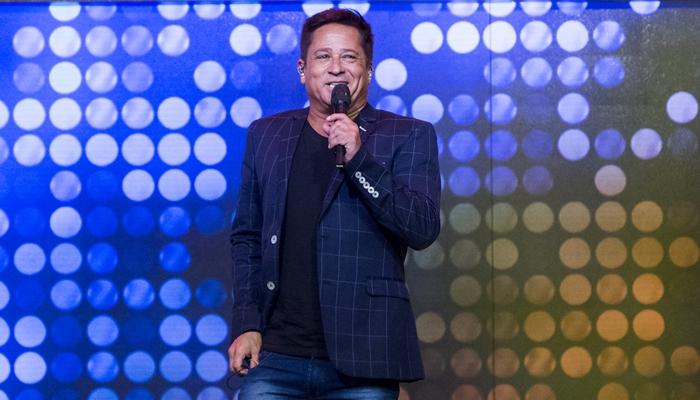 O cantor Leonardo no Tamanho Família (Foto: Globo/Marilia Cabral)